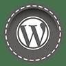 online cursus WordPress Wordpress 3d knop afbeelding