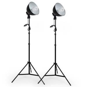 Afbeelding Set studiolampen met daglicht