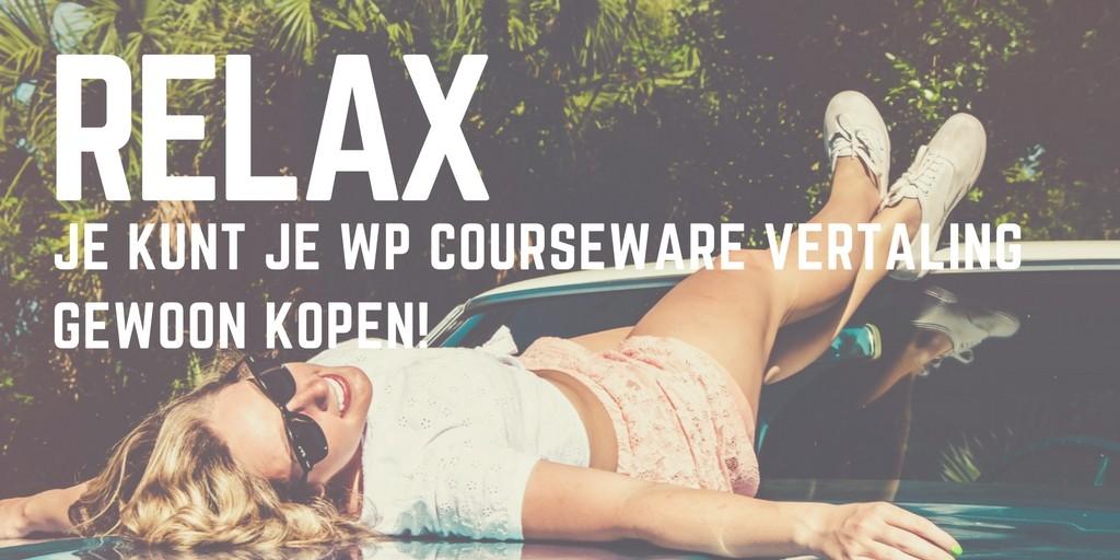 Nederlandse vertaling van WP Courseware – Bijgewerkt!