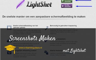 Online Cursus Maken – screenshot maken (afbeelding van je beeldscherm)